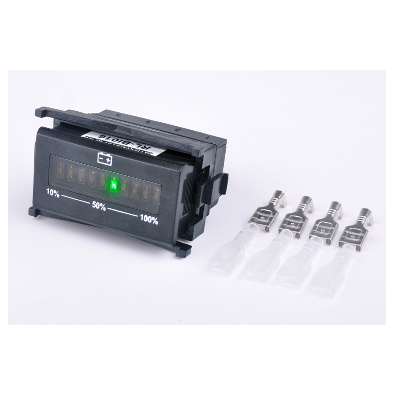 Светодиодный гистограмма Дисплей Батарея индикатор для мотоцикла Гольф тележки морской Ван автомобиля rl-bi016 Бесплатная доставка