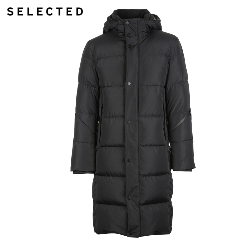 Image 5 - SELECTED New Winter Down Jacket Men's Water proof Outwear Warm Clothes Down Coat Suit S  418412529-in Down Jackets from Men's Clothing