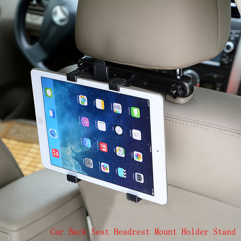 Universal 7 8 9 10 11 inch Tablet PC Stands Car Back Seat Headrest Holder Stands Support for iPad 2/3/4 Ipad mini 1/2/3 AIR universal tablet holder for 8 10 inch tablet pc stand security holder for ipad 2 3 4 air samsung desktop display support