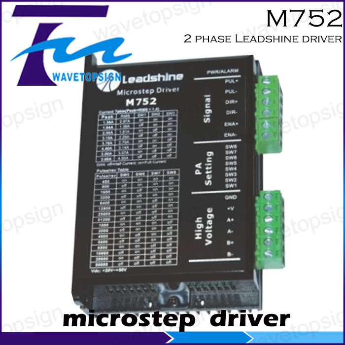 ФОТО 2 phase Leadshine M752 driver for stepper motor 24-70VDC