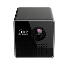 2017 Nuevo LED proyector micro de la Ayuda TF/USB DPL mini proyector portátil Full HD 1080 P de reproducción de vídeo en casa haz proyector projetor