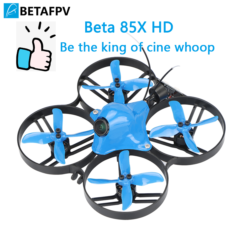 Beta85X Whoop Quadcopter 2 S HD whoop DVR con 1105 6000KV motore 2 S F4 FC BLHeli_32 ESC AXII ANTENNA EMAX Avan 2 4-Lame PuntelliBeta85X Whoop Quadcopter 2 S HD whoop DVR con 1105 6000KV motore 2 S F4 FC BLHeli_32 ESC AXII ANTENNA EMAX Avan 2 4-Lame Puntelli