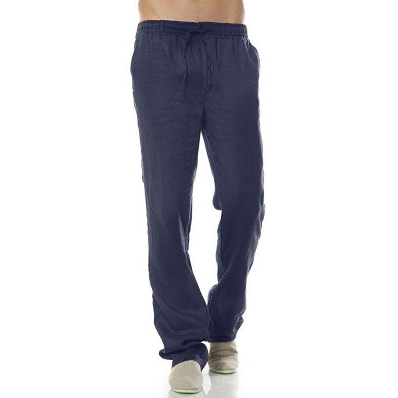 Hommes 2018 Taille Pantalon khaki Blue grey Lin Fond Coton navy Blue Couleurs 100 Été Régulier Élastique Droite light Loisirs white 6 Casual Black r1Eqwvxr8