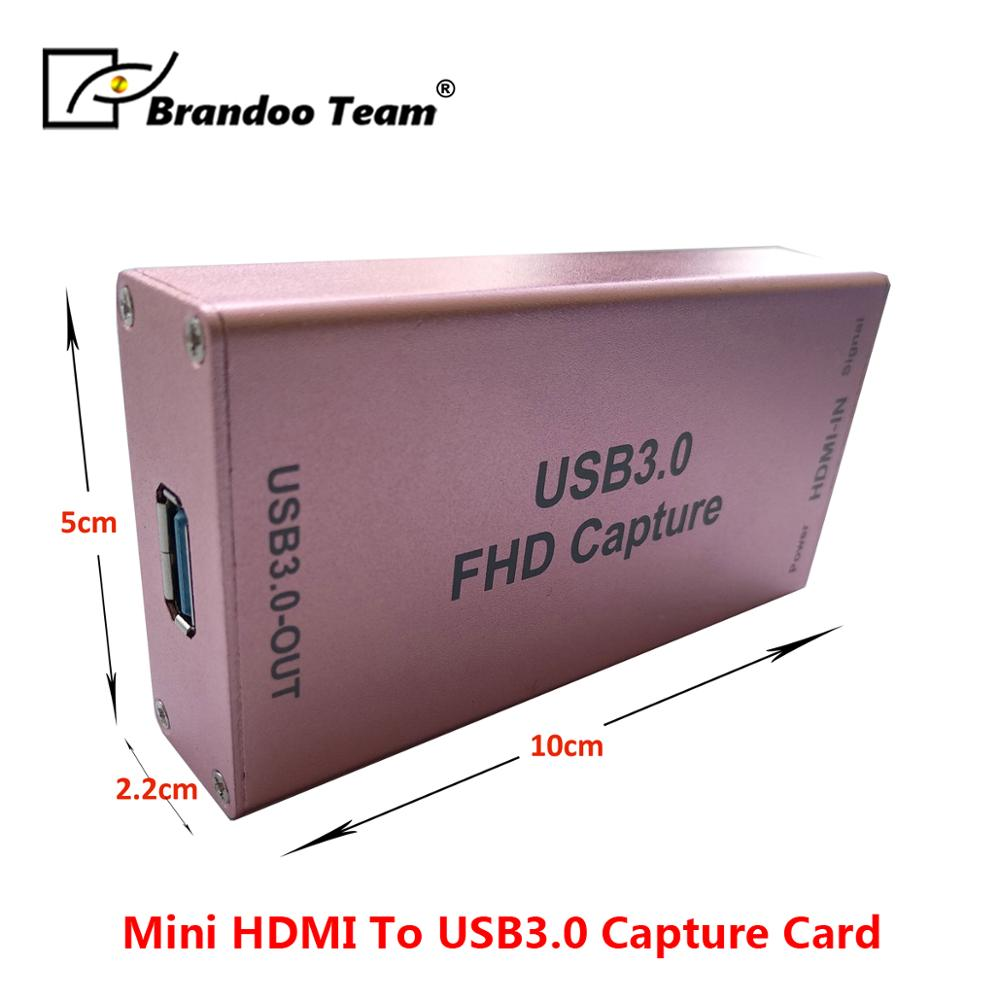 1080P HDMI To USB 3.0 Video Audio Capture Card Design For Live Broadcast