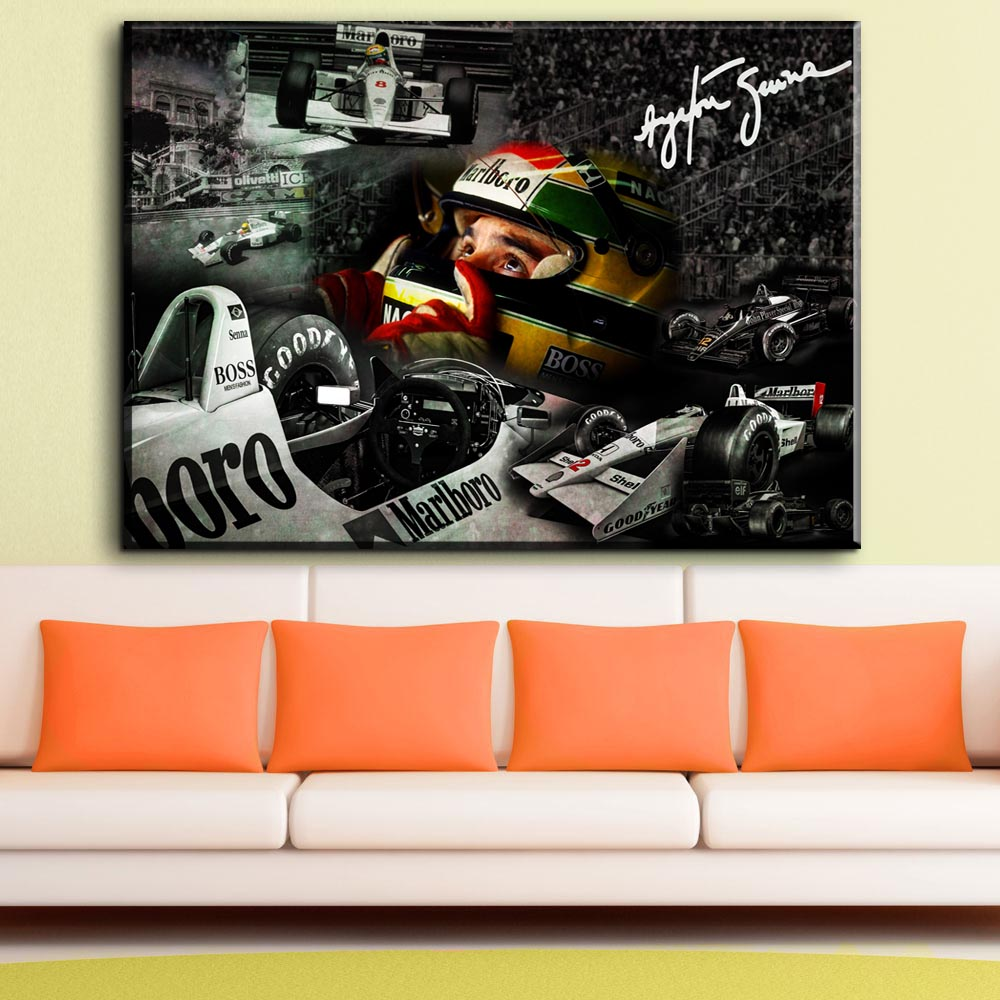 Full drill 5D DIY Diamond embroidery Ayrton Senna da Silva F1 Racer 5D Diy Diamond Painting Cross Stitch Rhinestone Mosaic de