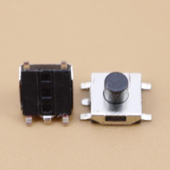 YuXi 1pcs Push Button Switch 6*6*5 Tact Switch Tactile 6x6x5 SMD SMT height is 5mm image