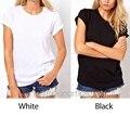 2016 Новая Мода Повседневная Футболка Женщины Ангельские Крылья Спинки Майка О-Образным Вырезом футболка футболка Топы Женской Одежды Pluse Размер