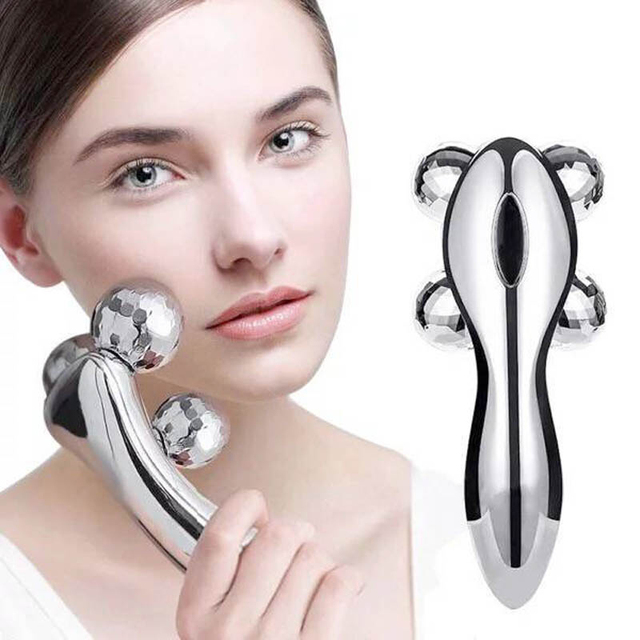 360 Degree Rotating Facial Massager