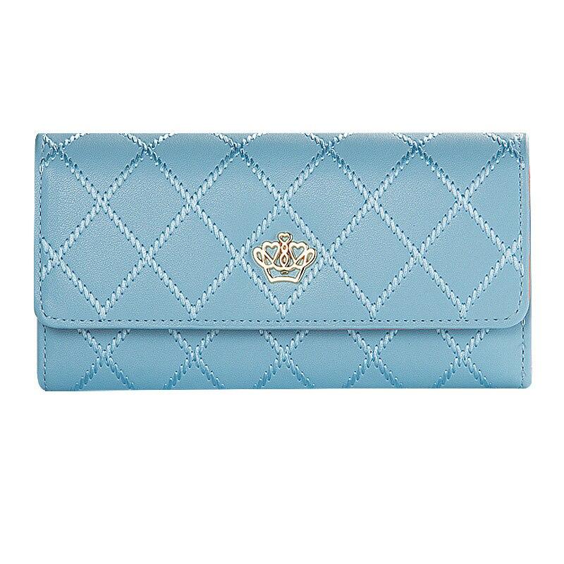 где купить Luxury Plaid Women Wallets 8 Colors Lovely Hasp Pocket Purse Woman Wallet Long Female Purse Card Holder Clutch Feminina Carteira по лучшей цене