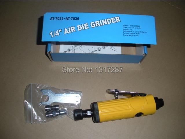 7033 kollane küpsetusõhu suruveski pneumaatiline lihvimisrihm 1/4 - Elektrilised tööriistad - Foto 1