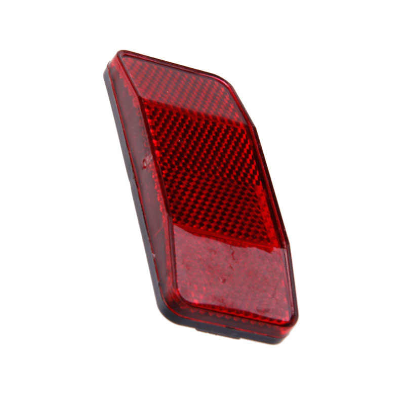 Bicycle Bike Cycle MTB Road Safety Warning Reflector Light Reflective Red Strips