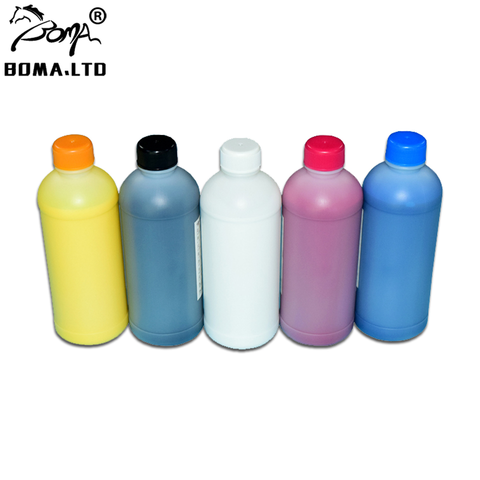 BOMA.LTD Bulk Printing Textile Ink For <font><b>Epson</b></font> <font><b>F2000</b></font> T7251 T7252 T7253 T7254 Cotton T725A <font><b>F2000</b></font> F2100 <font><b>Printer</b></font> Print Ink image