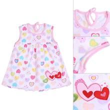 2018 Baby Girl Dress Cute Vestido infantil Cotton Sleeveless A-Line Dresses Casual Girls Clothing Mini Princess for Kids