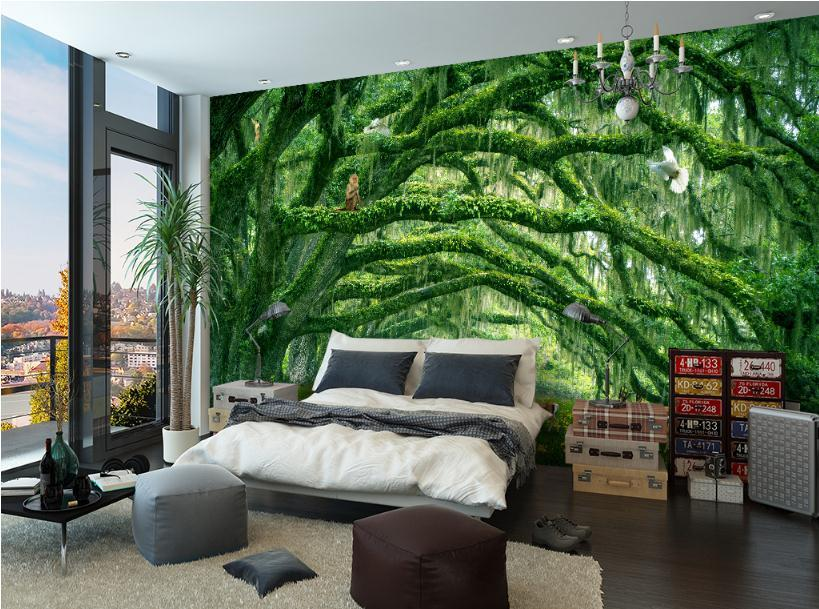 3d Effect 3d Wallpaper For Bedroom Walls Designs Allwallpaper