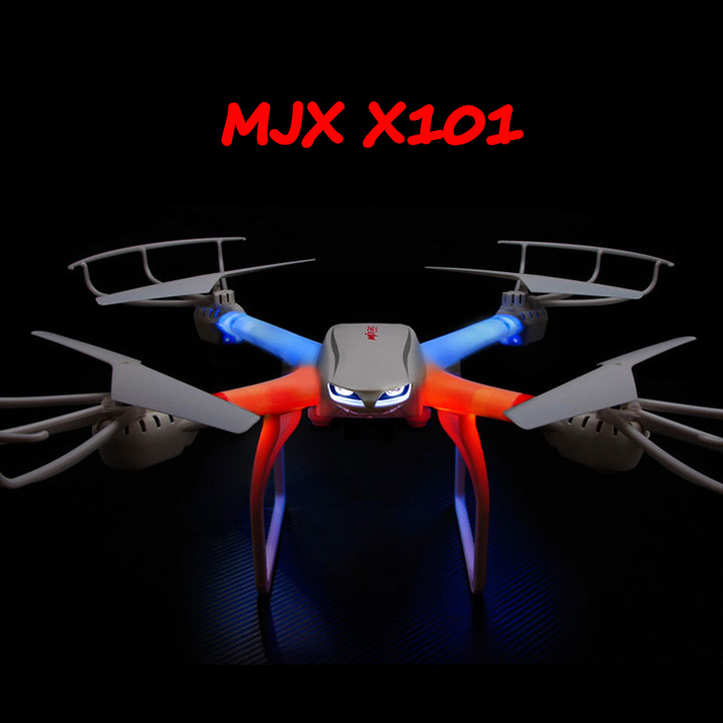 Drone MJX X101 FPV Quadcopter Wifi Headless One Key Return Flying Drones can + C4018 HD FPV GoPro Camera vs JJRC H8D H11D H12C