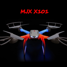 купить Drone MJX X101 FPV Quadcopter Wifi Headless One Key Return Flying Drones can + C4018 HD FPV GoPro Camera vs JJRC H8D H11D H12C по цене 5091.96 рублей