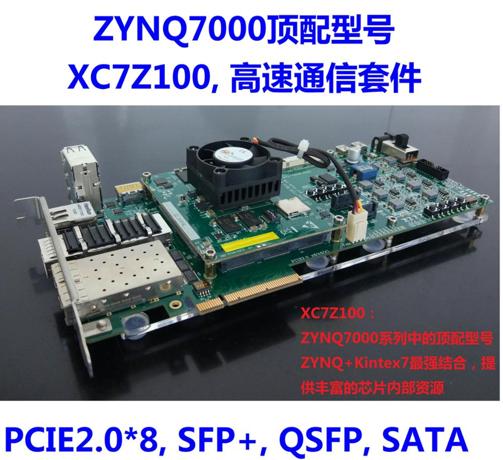 Zynq7000 Zynq Kintex 7 Development Board Xc7z100 Sata Pcie 10g Block Diagram Ethernet In Network Cards From Computer Office On Alibaba Group