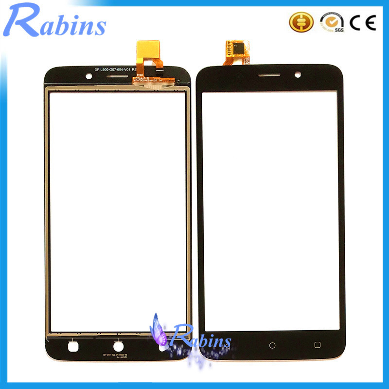 SYRINX Touch Screen Digitizer For Fly FS509 FS 509 Nimbus 9 Touch Panel Front Glass Lens Touchscreen Sensor TouchPad