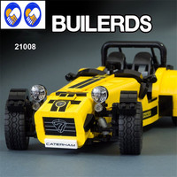 In Stock YL006 LEPIN 21008 Caterham 7 Super Sports Car 620R Assembly Toy Brick Building Kits