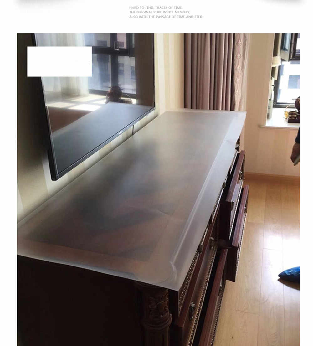 テーブルガラスpvc自己粘着壁紙フィルムキッチン防油透明ビニール浴室