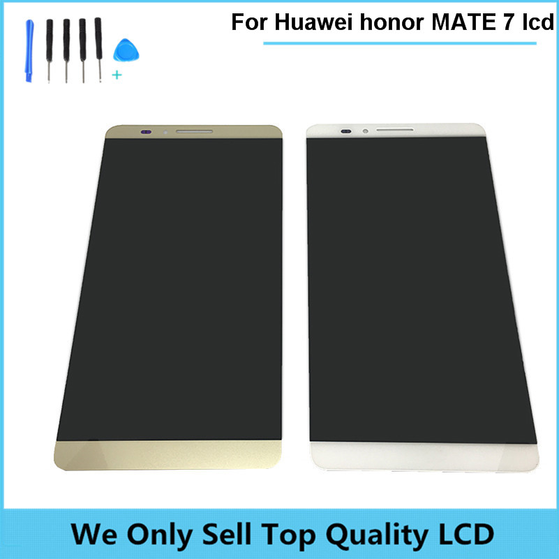 Подробнее о Compatible LCD For Huawei Ascend honor Mate 7 LCD display Touch Screen Digitizer high quality Assembly Free shipping with tools new lcd display touch screen digitizer assembly replacement accessories for huawei ascend honor 7 above phone lc free shipping