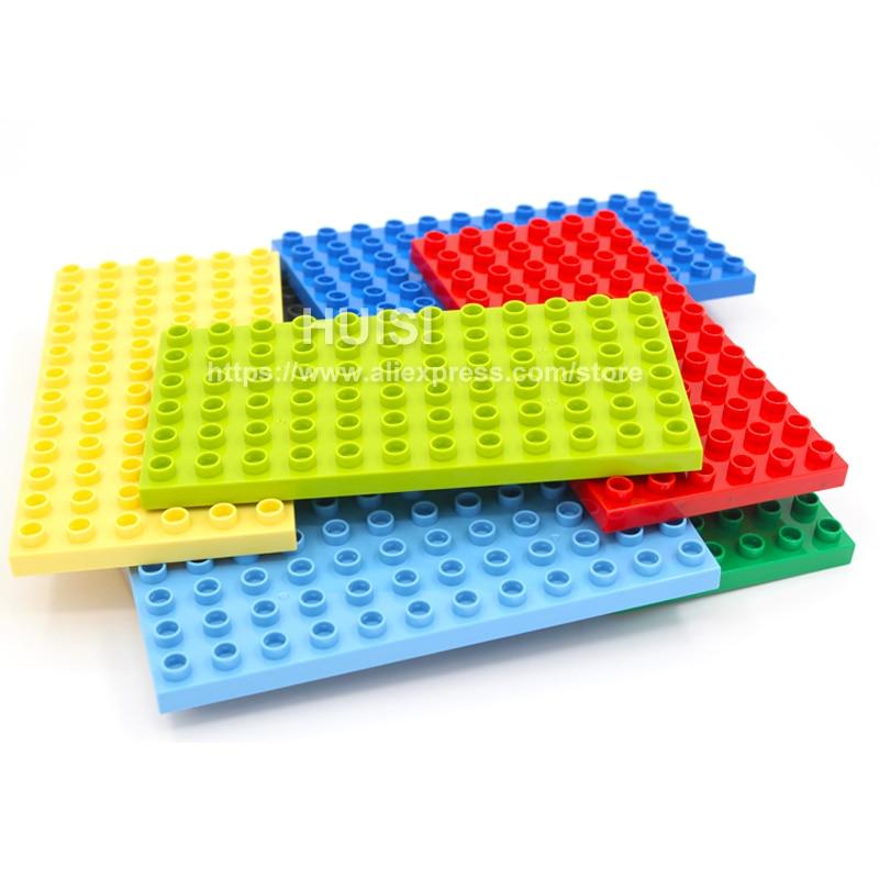 Duplo Lego համատեղելի երեխաների համար DIY - Կառուցողական խաղեր - Լուսանկար 3