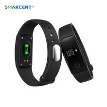 SMARCENT ID107 ID 107 Moniteur de Fréquence Cardiaque Smart Bracelet Bluetooth Podomètre Fitness Tracker Smartband Bracelet pour IOS Android