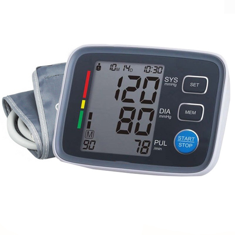 Cuff 22 32/48cm Chargeable Tensiometro Digital Blood Pressure Monitor Upper Arm Heart Monitor Sphygmomanometer Medical Equipment