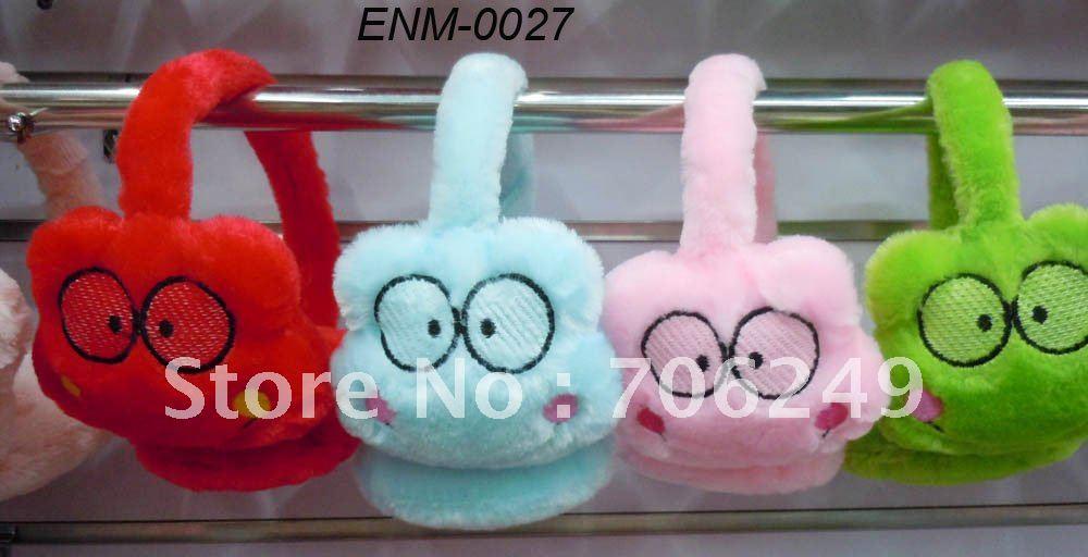 FREE SHIPPING,frog earmuffs,children and young earmuffs,ear warmer,heart earmuff,2012 new design