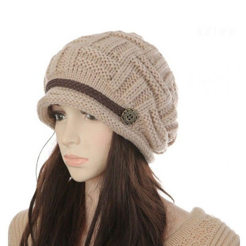 Вязанные шапки трикотаж