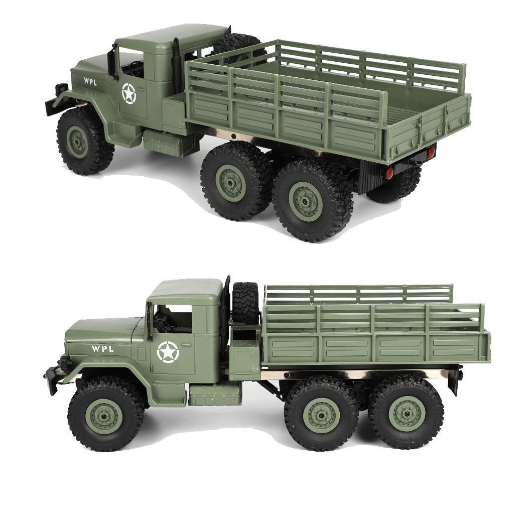 RC camión Mini todoterreno coche remoto 4,8 10 km/60 minutos Control 1:16 por encima de 3 años divertido chico vehículo juguetes Casual - 4