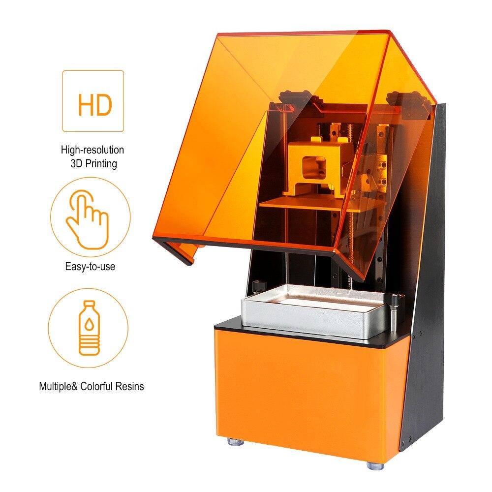 3D imprimante résine Photon SLA/LCD UV Cure de lumière trancheuse haute précision haute vitesse 12-36 mm/h taille d'impression 120*68*150mm pour l'éducation