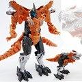 2016 New Arrival Brinquedos Transformação Robô de Plástico Figura de Ação dinossauro do Dinossauro Modelo de Brinquedo Presentes Para O Menino & Kids Atacado