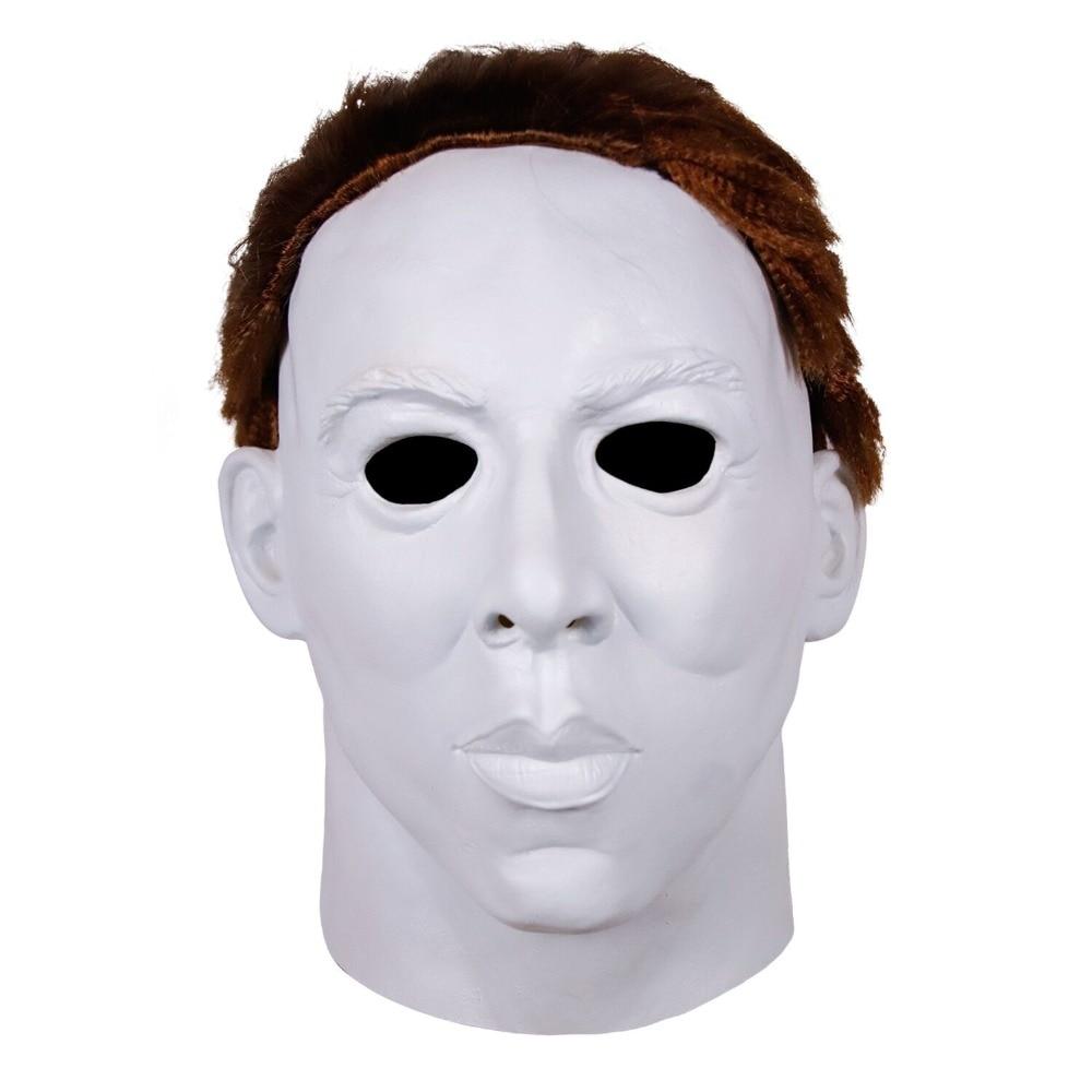 2018 Décoration Boîte Cadeau Parti Réaliste Robe Michael Myers Latex Halloween Masque