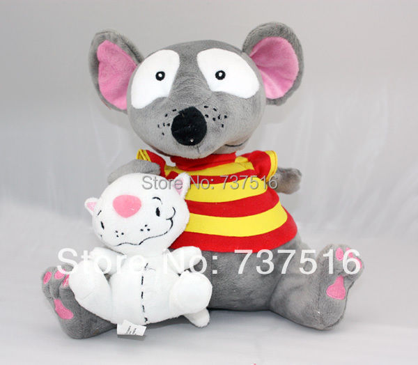 """Patchy Patch Plush Soft Toy Toopy And Binoo Figure Doll Xmas Gift for Kids 12/"""""""