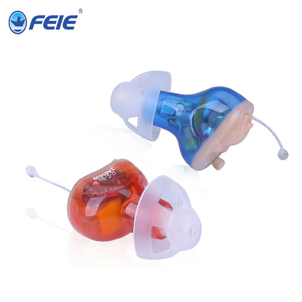 Mini Ear Sound Amplifier Personal Assistance Products Digital CIC Hearing Aid S-17A reasonable price digital ear sound amplifier mini programmable cic hearing aid deaf earphones s 12a