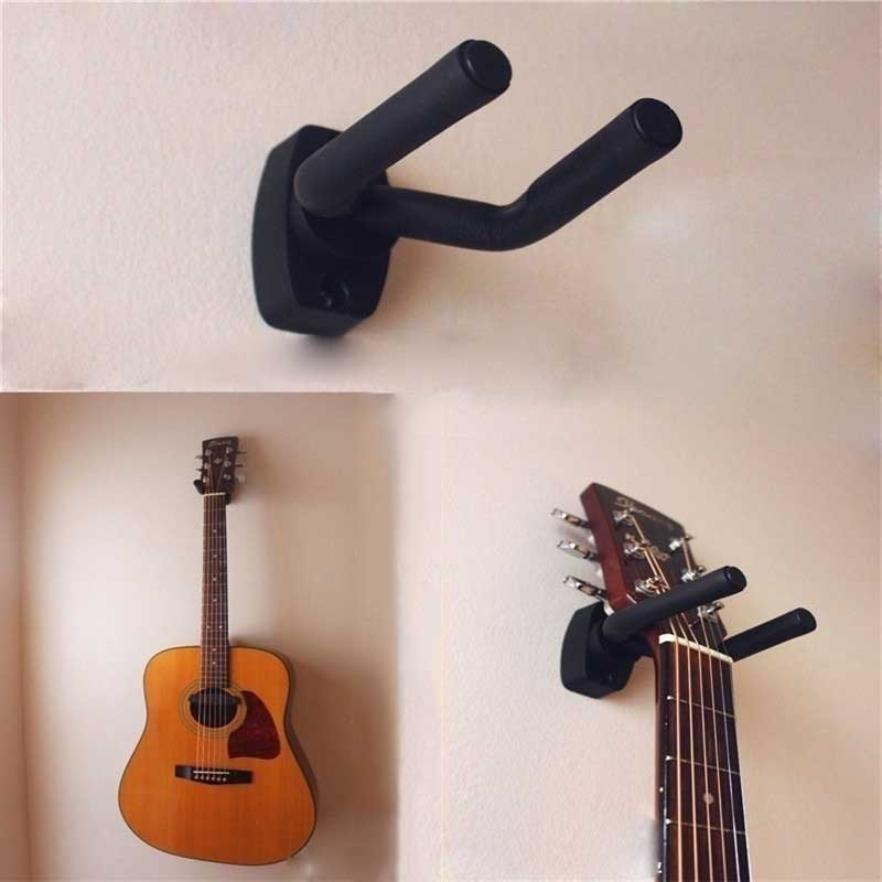 Guitar Stand Holder Wall Guitar Gitar Hanger Hook Holder Wall Mount Stand Rack Bracket Display Guitar Bass Screws Accessories