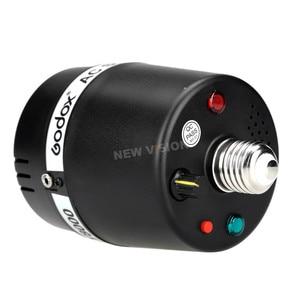 Image 5 - 2x Godox SY8000 Studio E27 śrubą AC niewolnik Studio Flash Strobe światła żarówki