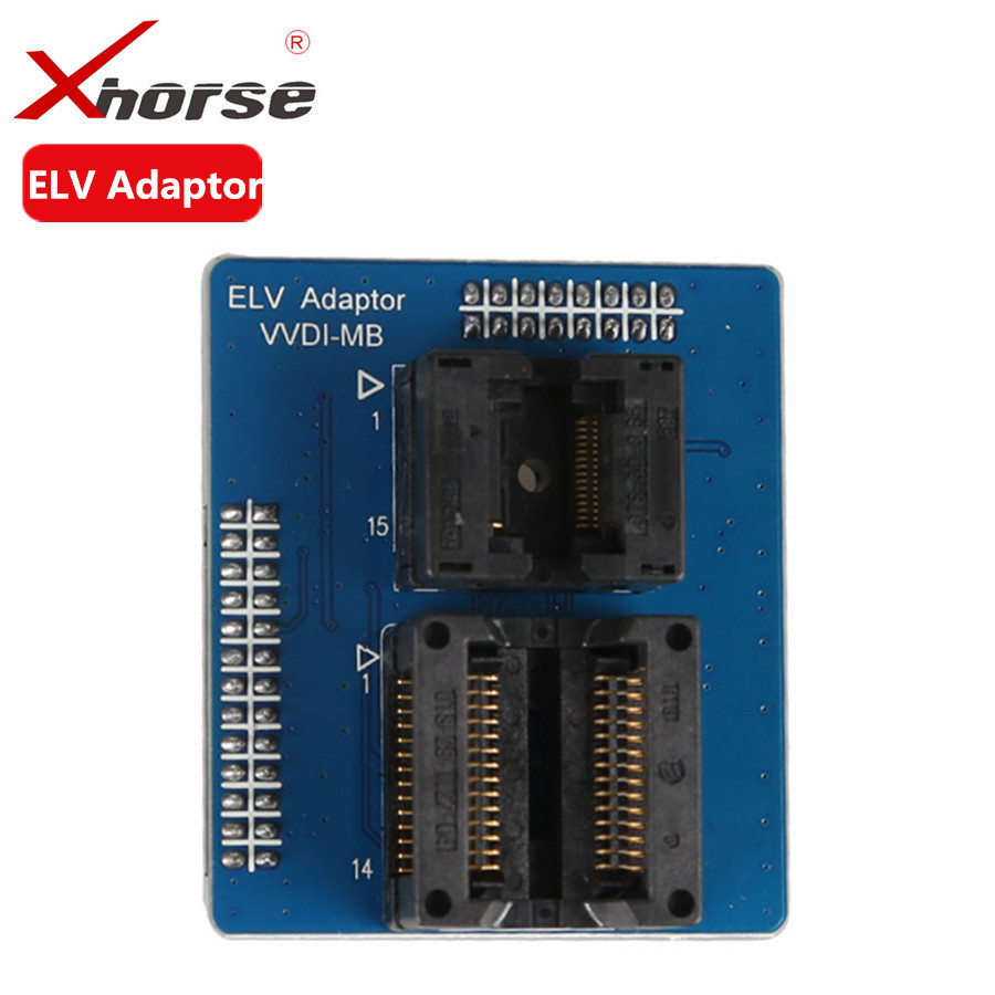 Xhorse VVDI MB NEC ELV adaptor For VVDI MB BGA tool to renew монитор nec 30 multisync pa302w sv2 pa302w sv2