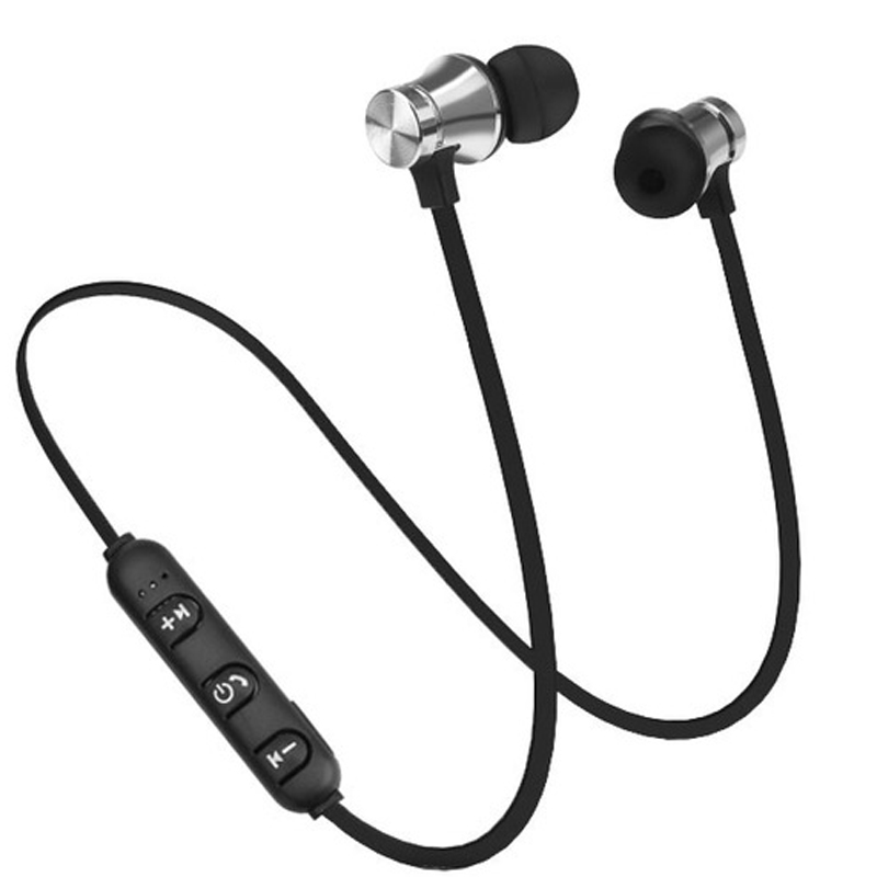 XT 11 Bluetooth Earphone V4 2 Stereo Sports Waterproof Earbuds Wireless in ear Magnetic Headset with Mic for iPhone Samsung LG in Bluetooth Earphones Headphones from Consumer Electronics