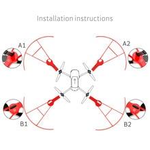 MAVIC Pro Кольцо Пропеллер Защита БПЛА предотвращения столкновений кольцо крышки Drone гвардии круг для Mavic Pro Аксессуары