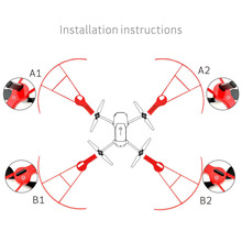 Mavic Pro propeller protection ring UAV anti collision ring cover font b drone b font guard