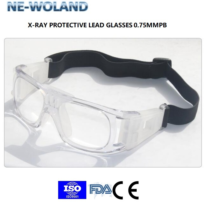 Lead Equivalent 0.75MMPB Medical X-ray Protection Lead Glasses/spectacles For Industry Enviroment,Radioactive Workplace,hospital