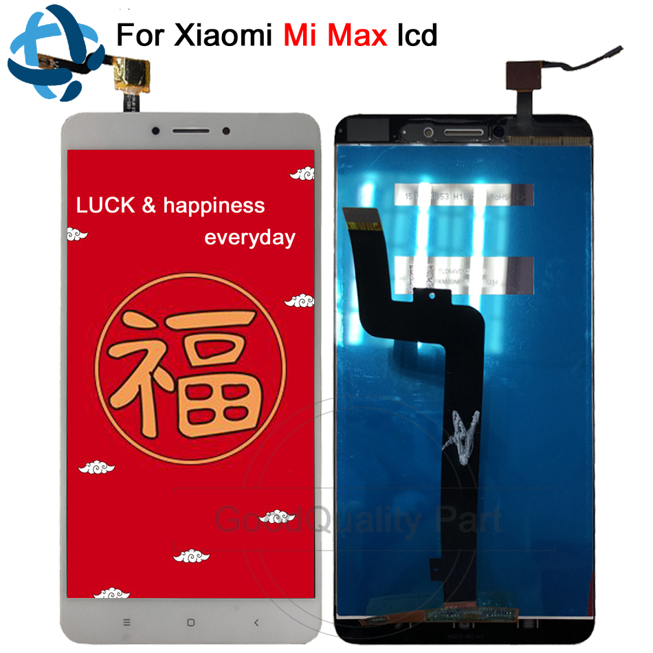 Display 6.44For Xiaomi Mi Max LCD Touch Screen Digitizer with Frame for Xiaomi Mi Max Display Screen Replacement Mi Max 1
