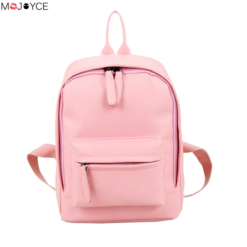 Women Backpack High Quality PU Leather Mochila Escolar School Bags For Teenagers Girls  Backpacks Herald Fashion 2017 new fashion women bag backpack pu leather mochila escolar school bags teenagers girls top handle backpacks herald female