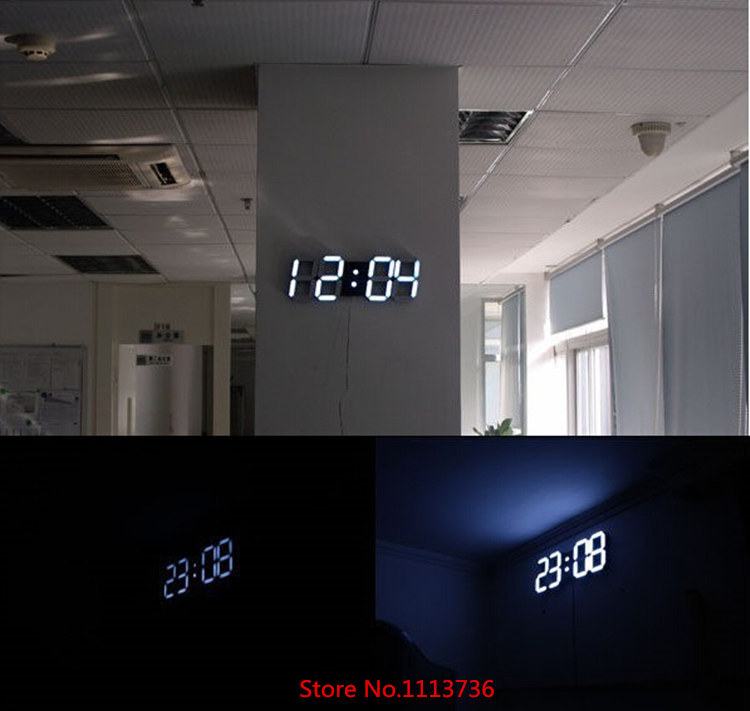 enchanting modern digital wall clock 42 minima