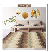 Leaf Pattern Carpet For Living Room Non-slip Floor Mat Sofa Table Area Rug Children Bedroom Carpet Absorbent Kitchen Mat недорого