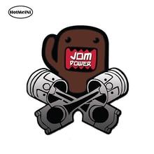лучшая цена HotMeiNi 13x13cm Car Styling DOMO KUN JDM POWER Car Sticker Decal Vinyl Japan Waterproof Bumper Doors Windows Accessories