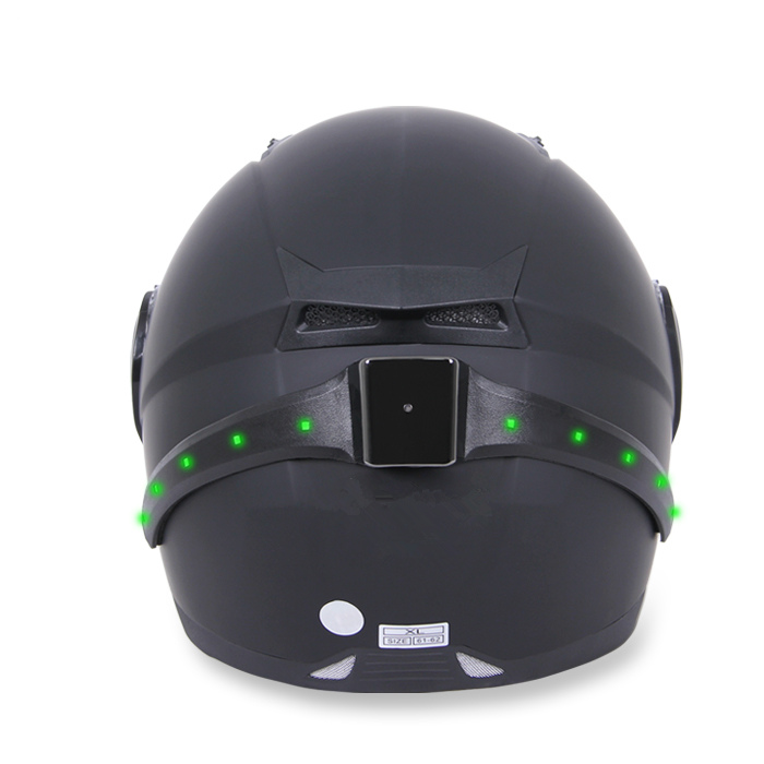 Wireless Motorcycle Smart Helmet Light Led Safety With