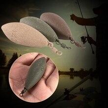 Прямая поставка, рыболовные грузила, свинцовые, вес овальной формы, вес s, поворотные снасти для ловли карпа, аксессуары 71 г/85 г/99 г/127 г/142 г APR28
